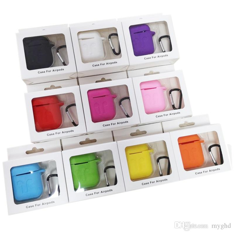 2019 For Apple For Airpods Cases Silicone Soft Ultra Thin