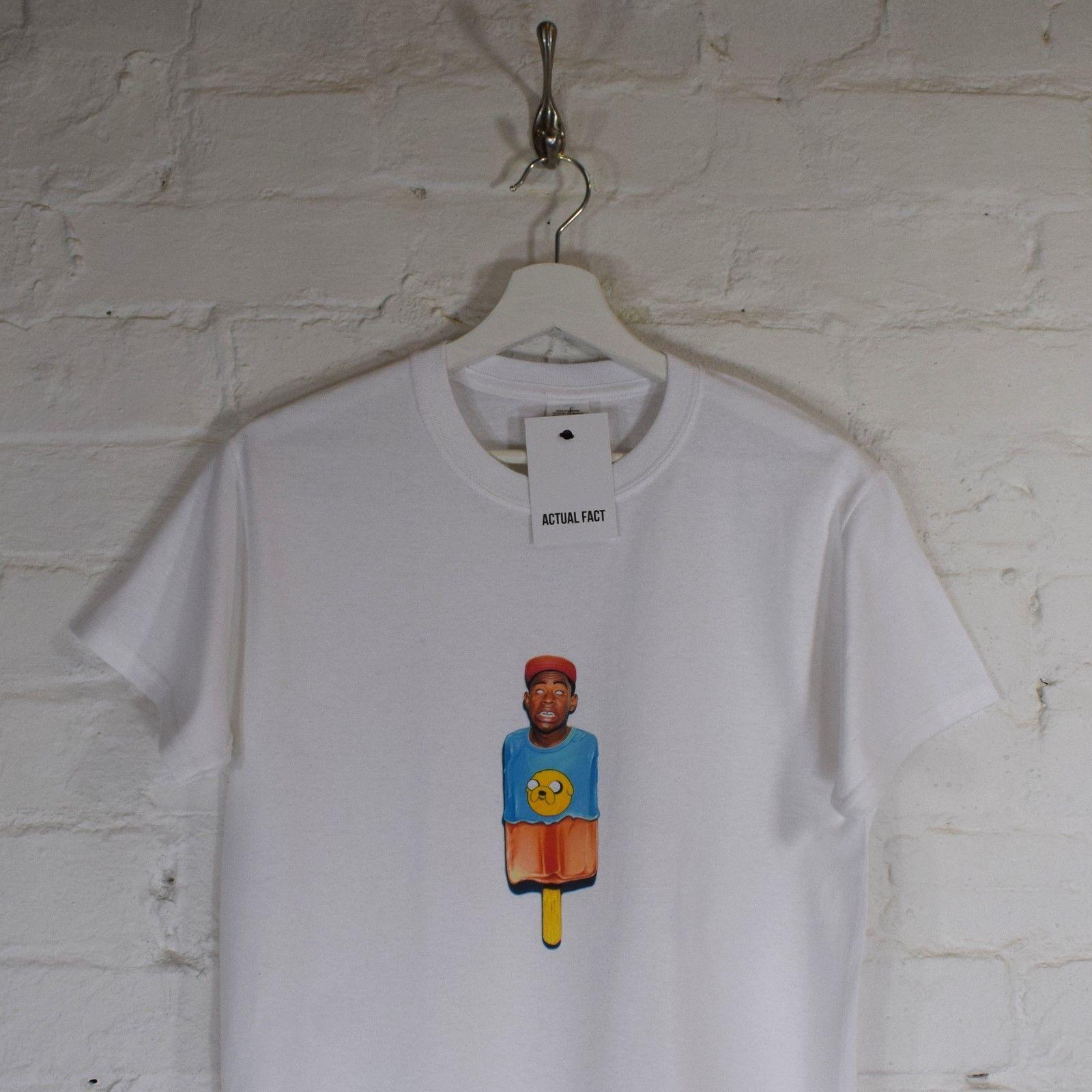 53b41c3d697 Tyler The Creator Rap Odd Future White Lollipop Hip Hop Tee T Shirt Top By  AF Colour Jersey Print T Shirt Tee Shirts Mens T Shirts From Lookcup