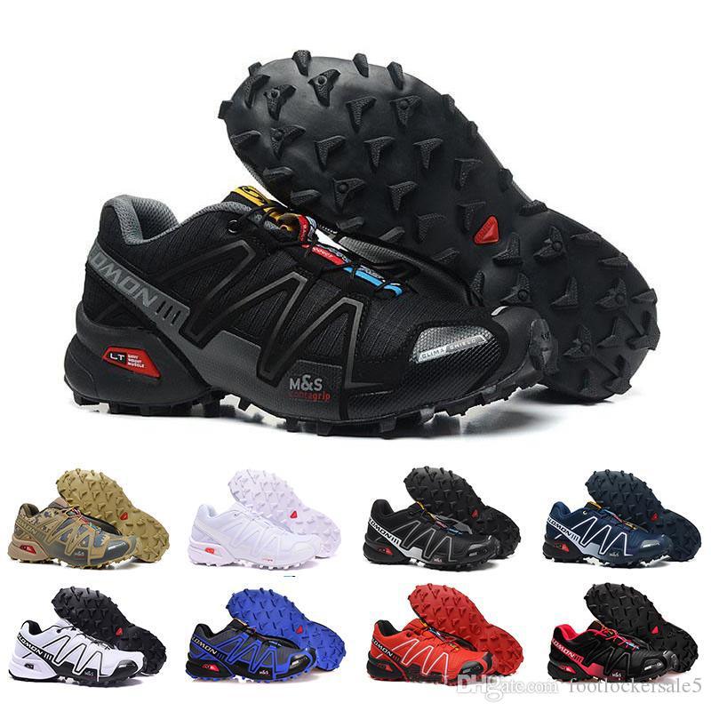 low cost 051bb f6fb1 Acheter Speedcross 3 IV CS Trail Chaussures De Course Pour Hommes Femmes  Violet Noir Speed Cross En Plein Air Randonnée Randonnée Athlétique Designer  ...