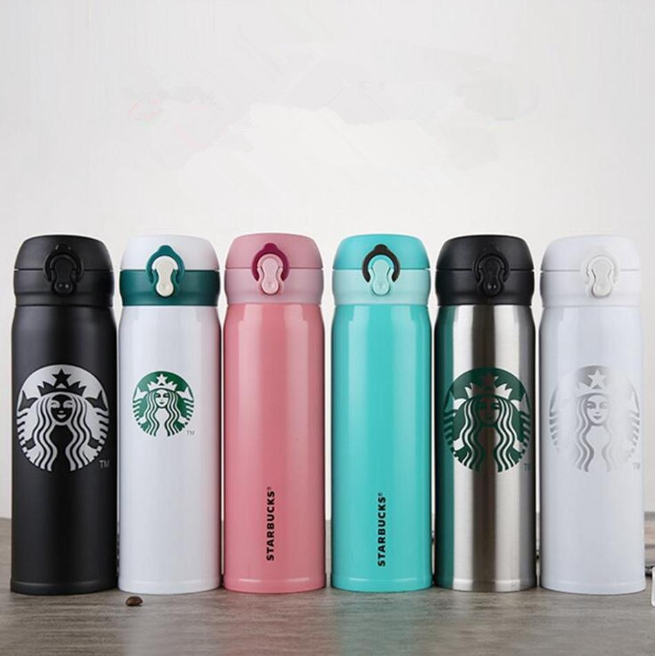 d2fcfc616e9 Starbucks Insulation Water Bottle 400ML Stainless Steel Portable Cups  Coffee Water Cup Vacuum Cars Beer Mugs OOA3944 Small Bpa Free Water Bottles  Small ...