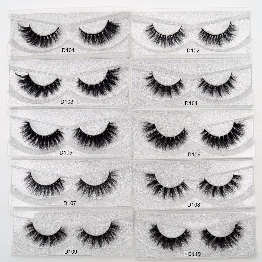 8385f28fb83 Visofree Eyelashes 3D Mink Lashes natural handmade lashes long soft false  eyelashes High Volume Cruelty Free Mink lashes D101