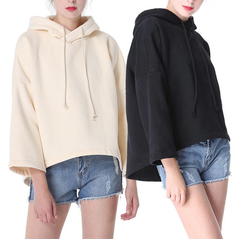 0b918acf98b 2019 Sweatshirts Female Oversize Hoodie Plus Size Sweatshirt Hoodies Women  Long Sleeves Hoody For Women Thicken Hooded Sweatshirt From Vineger