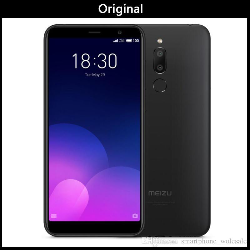 Official Global Version Meizu M6T 3/4GB 32/64GB Mobile Phone MTK6750 Octa  Core 5 7 Dual Rear Camera 3300mAh Battery Fingerprint ID