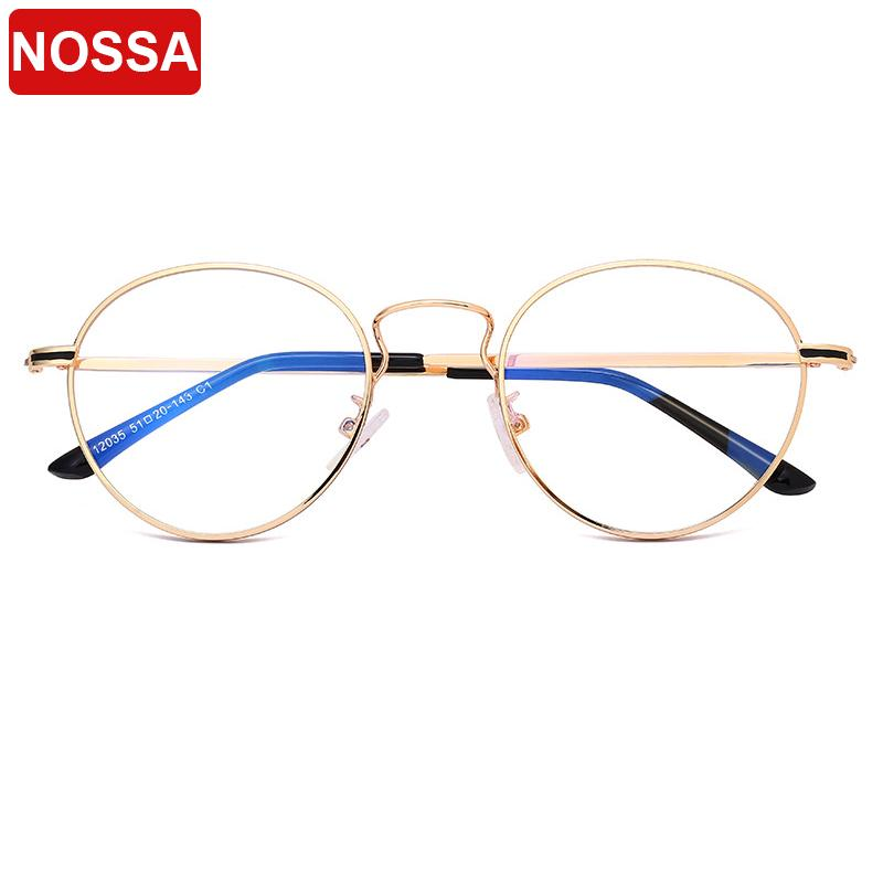2eab532c7a4a 2019 New Fashion Oval Fine Glasses Frame Trend Men And Women Literary  Temperament Flat Mirror Student Personality Decorative Glasses.