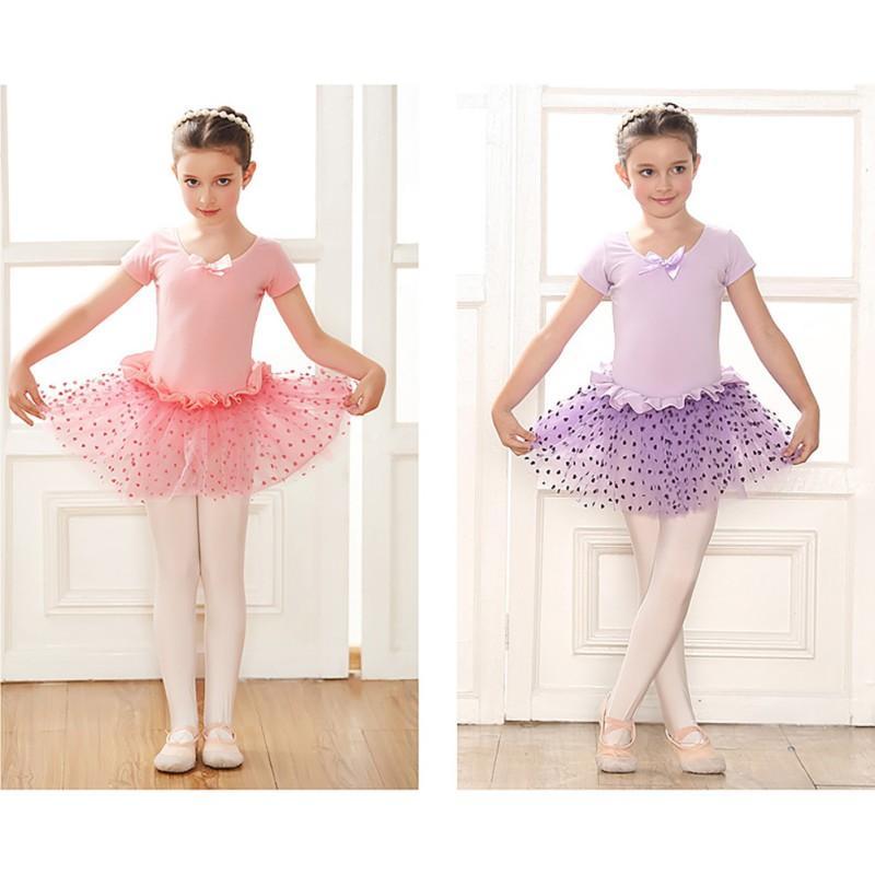 67514efc7d59 2019 Teen Kids Girls Party Tulle Ballet Dance Wear Gymnastics ...