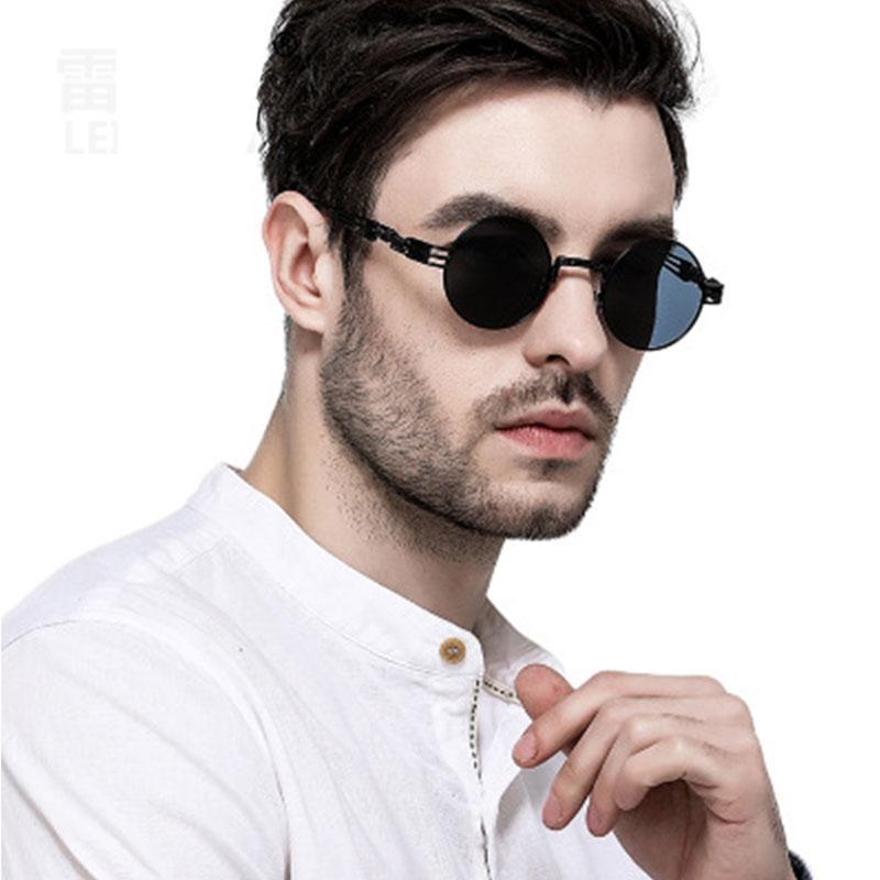 1acf27f8c Compre Óculos De Sol Polarizados Armação De Metal Armação Redonda Para  Retro Óculos De Sol Para Homens Mulheres Vintage Espelhado Óculos De  Qualitywatch, .