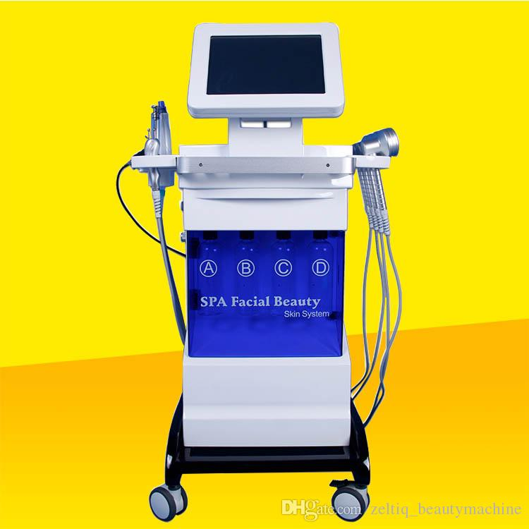 Hot sale salon microdermabrasion machines wrinkles removal skin tightening Acne treatment microcurrent machine photon Diamond Dermabrasion