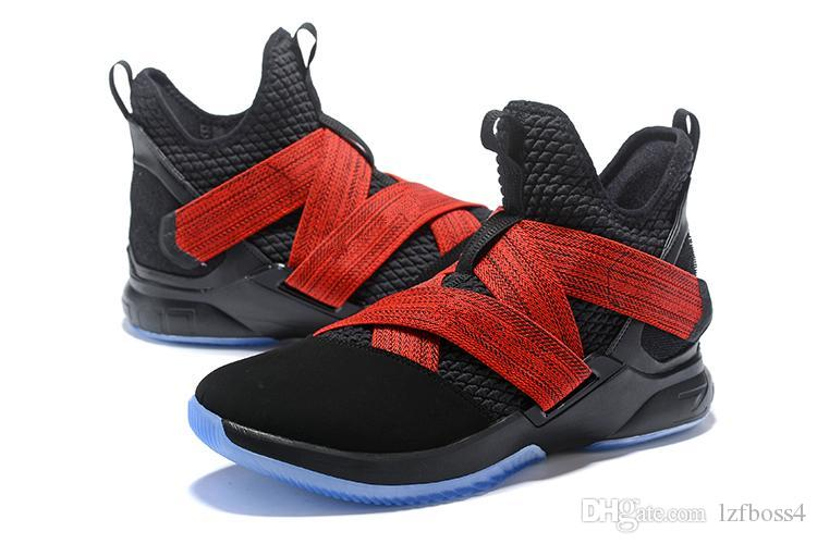 1803875f7651 Cheap New Brand Top Quality 12 Zero Dark Thirty Soldier XII for Playoffs  Basketball Shoes XII Witness Soldier 12 Sports Sneakers LZFBOSS4