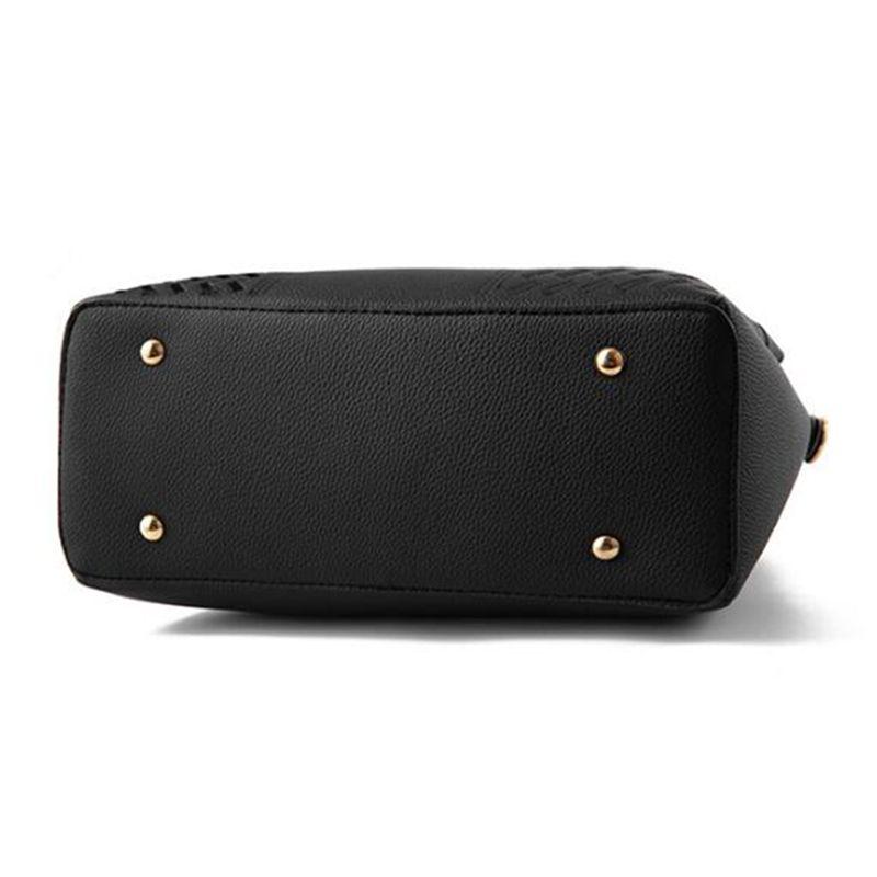 85aef1855a2a Модные женские сумки с кисточками из искусственной кожи Сумка с ручкой для  вышивания Сумка через плечо Леди Простой стиль Сумки