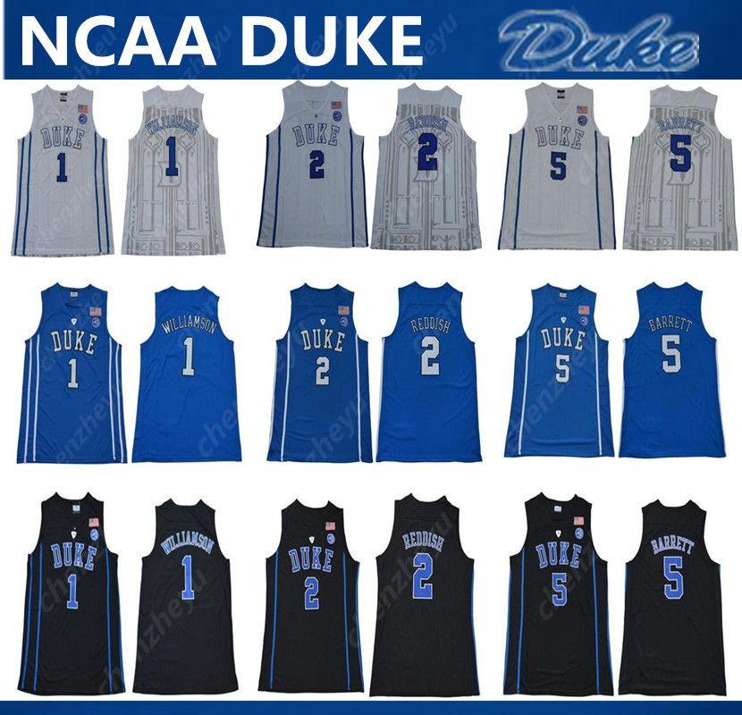 8ac06052f387 Großhandel 2019 Herren NCAA Duke Blue Devils Trikot 1 Zion ...