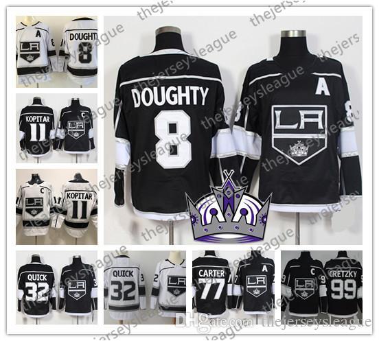 2c5b60ee3 2019 Los Angeles Kings NEW BRAND #11 Anze Kopitar 8 Drew Doughty 32 ...