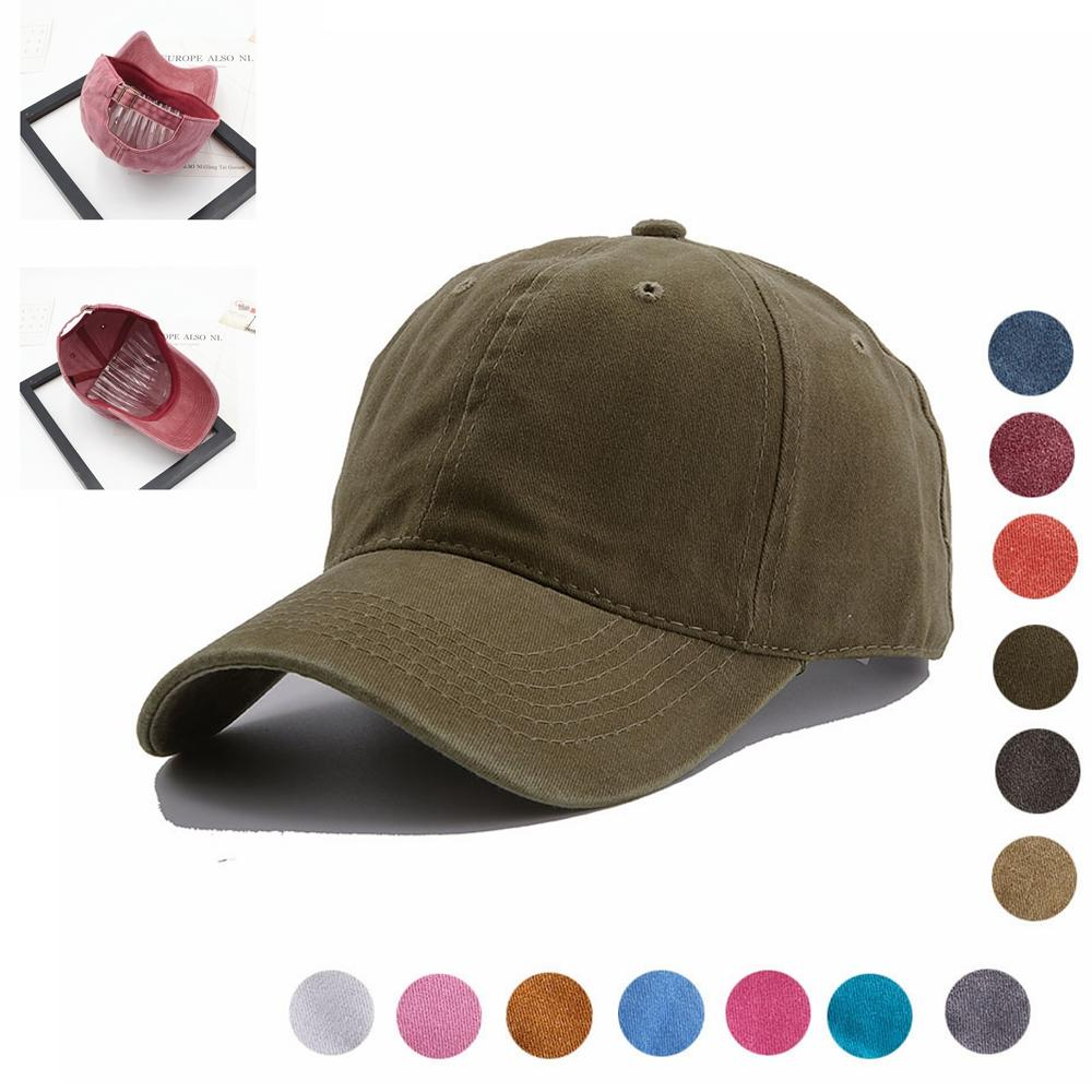 e489c39a2a208 2019 Vintage Washed Dyed Baseball Cap Low Profile Adjustable Unisex Classic  Plain Sport Outdoor Summer Dad Hat Snapback AAA1999 From Best sports
