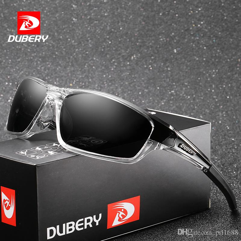 01df3fbf91b DUBERY New Polarized Sunglasses For Men And Women Fashion Brands Designer  UV400 Outdoor Sports Riding Night Vision Sun Glasses With Box Polarized  Sunglasses ...