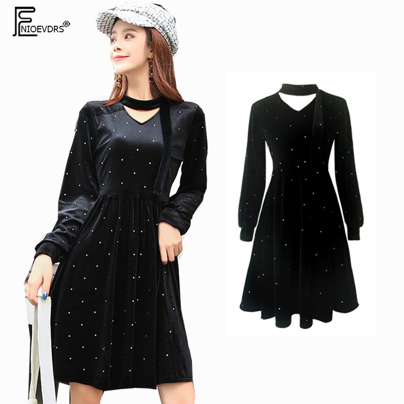 Little Black Dresses Hot Sales Women European France Style Design