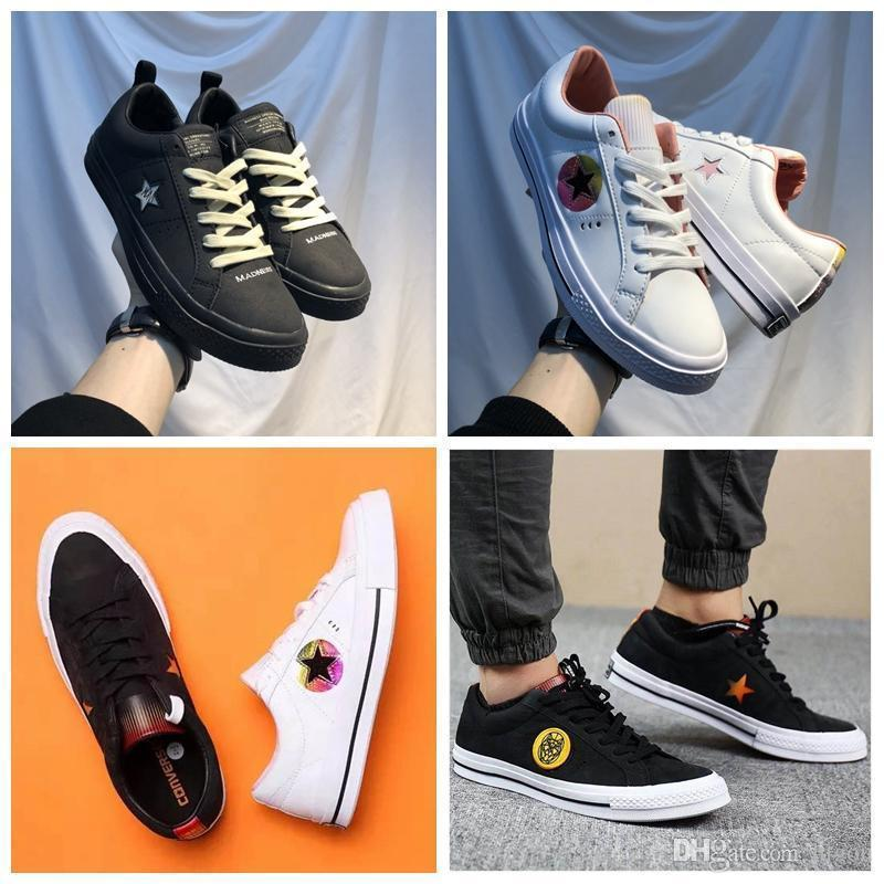 6a0b47d9860d 2018 One Star 1970s Year Of The Dog Solar Pack Casual Leather Canvas  Running Shoe Designer Converse Sneakers 36-44 Online with  95.81 Pair on ...