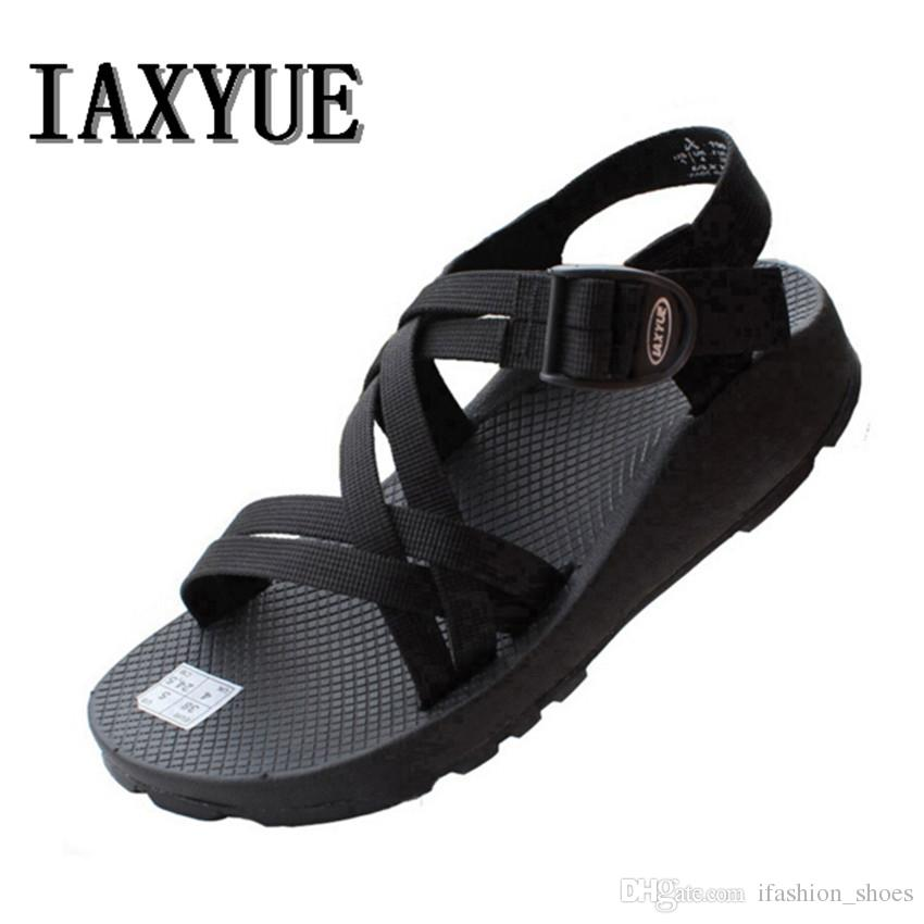 9b259e4f2ff IAXYUE  Han Edition Outdoor Leisure Men S Men S Platform Sandals In The  Summer Beach Shoes