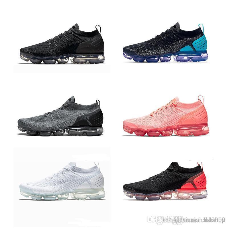 b41ee5aeb8ca Acheter 2019 Nike Air Max 270 Vapormax Max Off White Flyknit Utility  Vapormax De Course Barefoot Doux Sneakers Femmes Respirant Sport Chaussure  De Sport ...