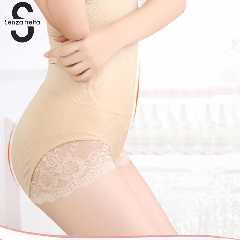 3877186a932 2019 Seamless Women Shapers High Waist Slimming Tummy Control Knickers  Pants Pantie Briefs Magic Body Shapewear Lady Corset JYZ0300 From  Zhaolinshe