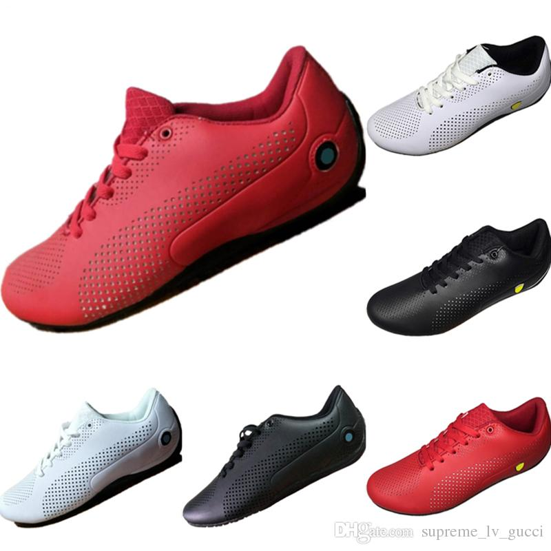 le dernier 042fe ad4dc 2019 Future Cat All Leather Punching Breathable Mens Motorsport Shoes  Future Cat Mix RB Mens Casual Kart Sneakers