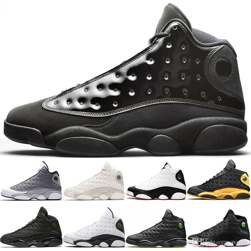 d062625d1362 2019 2019 New Cap And Gown 13s Basketball Shoes 13 Atmosphere Grey ...