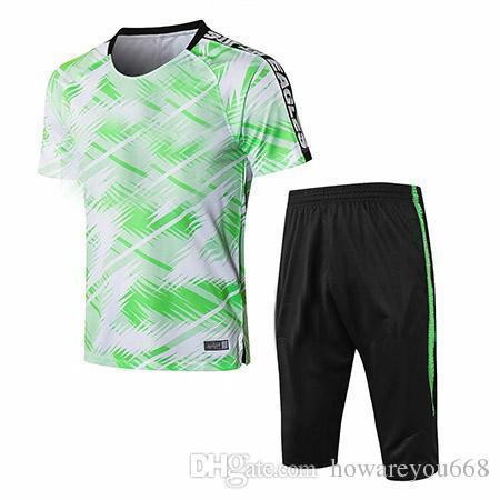 sale retailer ff367 2cc18 2018 World Cup Nigeria SOCCER JERSEY training suit 18-19 chandal Nigeria  FOOTBALL tracksuit long sleeve kits men Nigeria