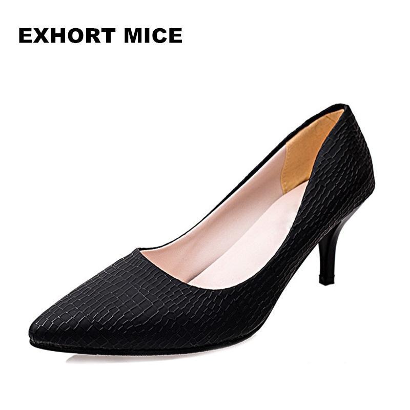 e993e380b55580 Großhandel Schuhe Super High Frauen Spitz Pumps Lackleder Kleid High ...