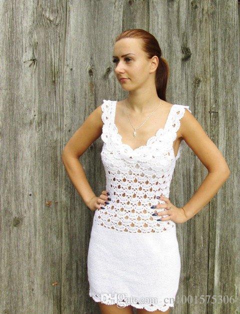 Compre Vestido Nupcial De Algodón Para Mujer Vestidos De Novia