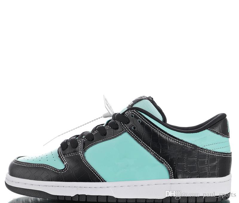 the latest 0a8fe f62f8 Compre Hot Diamond Supply Co. X SB Dunk Low Pro Tiffany Zapatos Para Correr Para  Hombres, Zapatillas De Deporte De Calidad Superior, Zapatillas Deportivas  ...