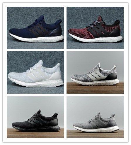 big sale 02fbe 8948f chaojifeixia Ultra 3.0 Triple Black and White Primeknit Oreo CNY Blue grey  3.0 Men Women Running Shoes UB 4.0 Primekni SportS shoes 36-47