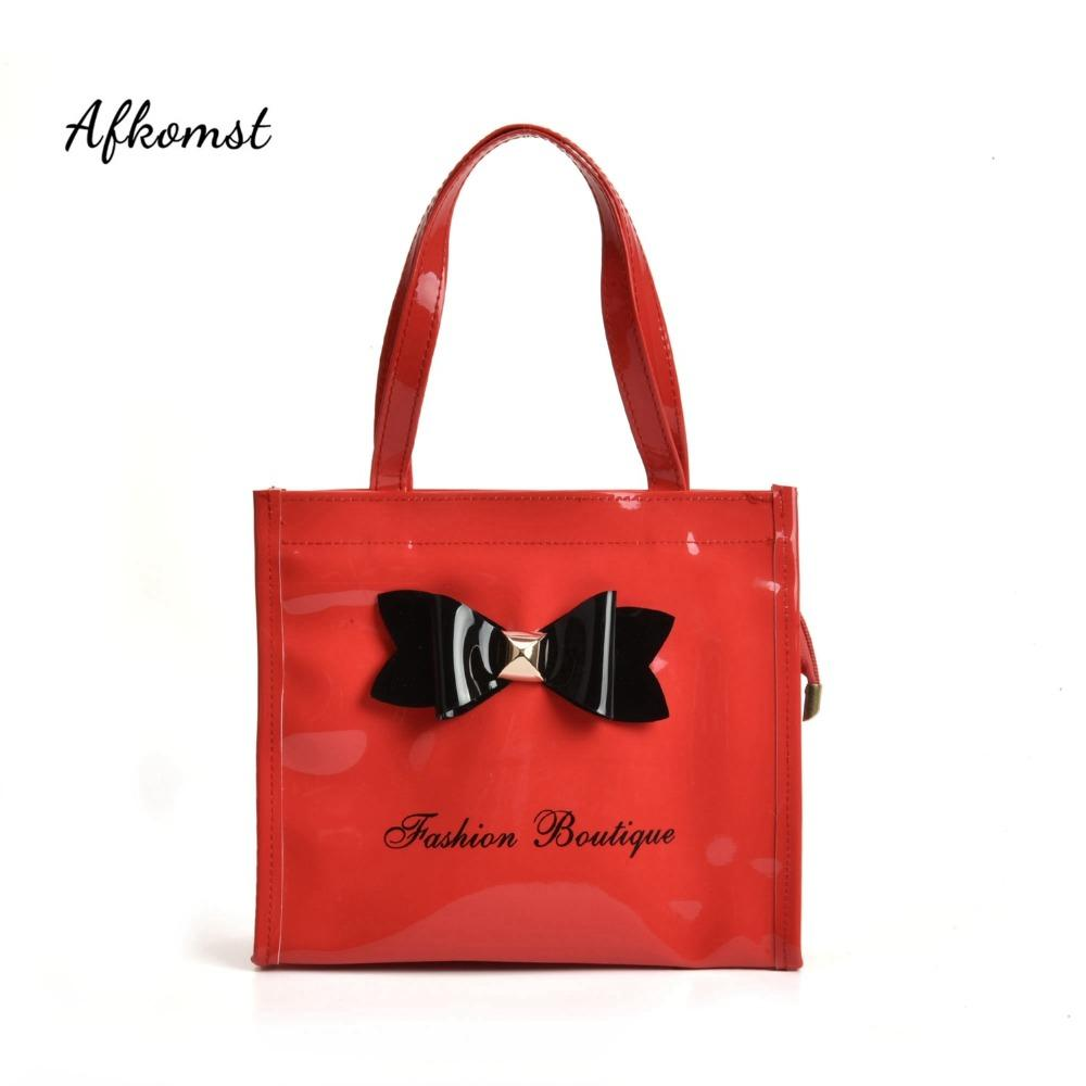 Halloween Afkomst.Afkomst Mini Kids Girls Bag Boy S Bright Patent Leather Handbag Bow Design Cute Solid Shoulder Bag For Child Candy Qq2064