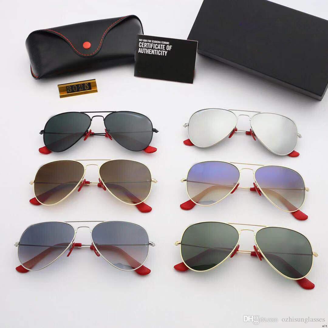 051b024dac Compre RayBan RB3025 Lentes Polarizadas De Alta Calidad Para Gafas De Sol De  Moda Para Hombres Y Mujeres Diseñador De La Marca Vintage Sport Gafas De Sol  ...