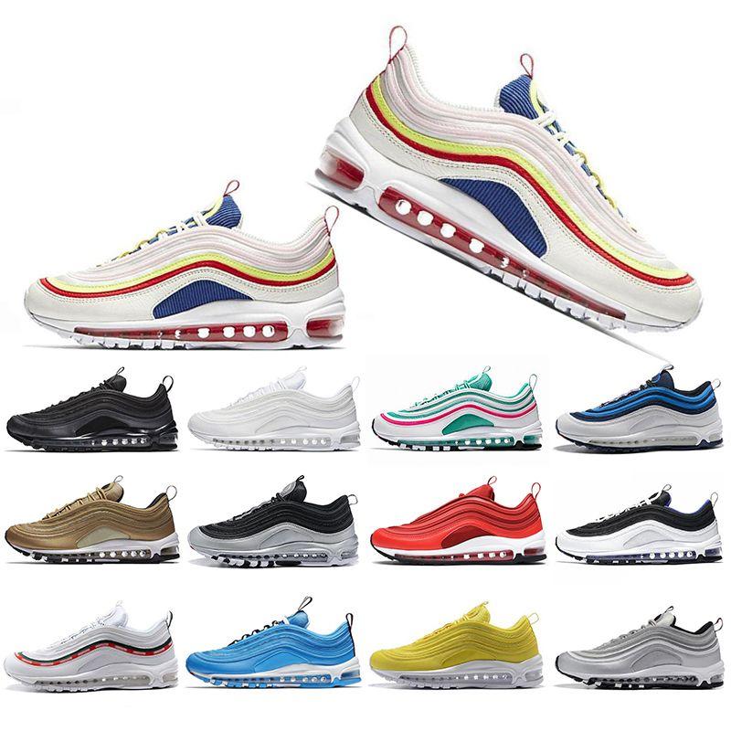 e966d8e96cd New Classic Running Shoes For Men Women SH Kaleidoscope SEOUL London Summer  of love Mustard SE Mens Trainers Designer Sports Sneakers 36-45