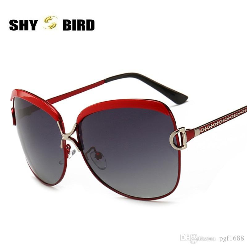 8932793ec37 SHYBIRD New Gradient Polarized Sunglasses For Women S Brand Designer  Classic Fashion Sun Glasses Ladies Outdoor Sports Riding Goggle Eyewear  Sunglasses For ...
