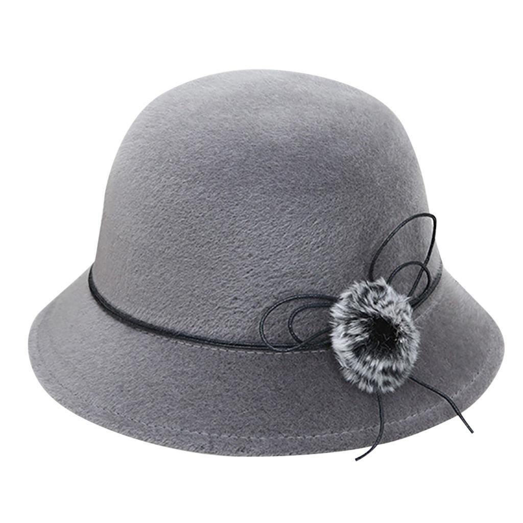 b133135eadf500 2019 New Bucket Hat Women's Crushable Felt Outback Hat Panama Wedding Ascot  Chapeau Sombrero