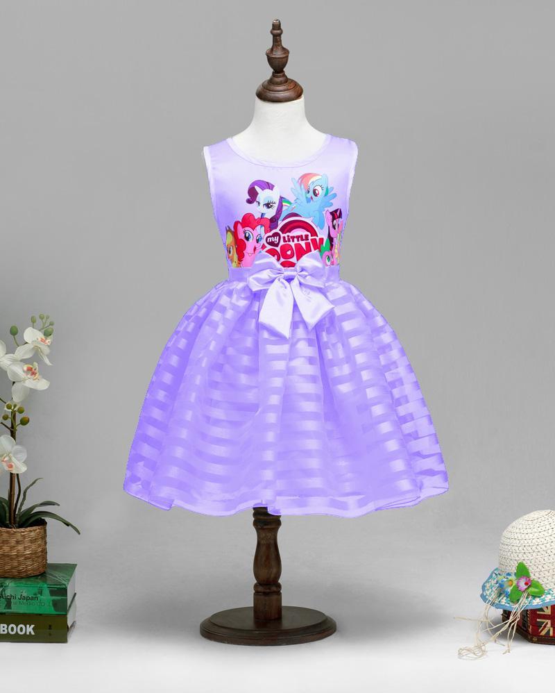2016 New Summer Girls Clothing Little Pony sleeveless girl dress roupas  infantis menina ropa de ninas vestido