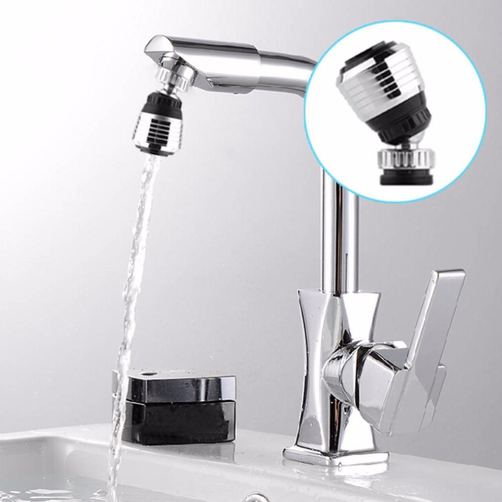 360 Degree Rotate Kitchen Faucet Nozzle Torneira Water Filter Water Saving  Filter Shower Head Nozzle Tap Connector for Bathroom