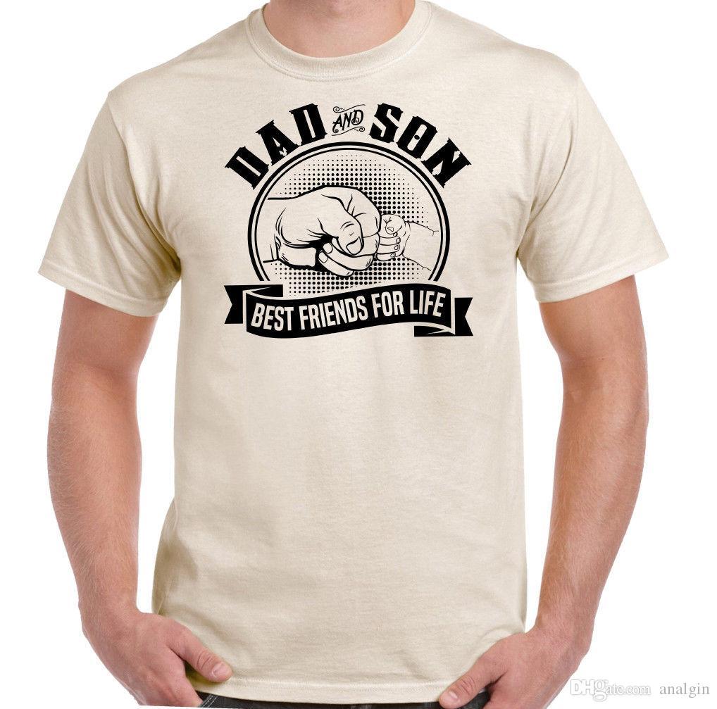 Großhandel Vater Sohn Beste Freunde Fürs Leben Top Tee Lustige Vaters Tag T  Shirt Geschenk Von Analgin,  10.03 Auf De.Dhgate.Com   Dhgate 61507e5bc8