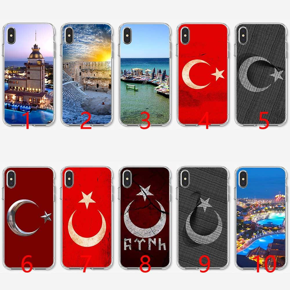3a999535aa Typography Flag Of Turkey Soft Silicone TPU Phone Case For IPhone 5 5S SE 6  6S 7 8 Plus X XR XS Max Cover Mobile Phone Cases Cell Phone Covers From ...