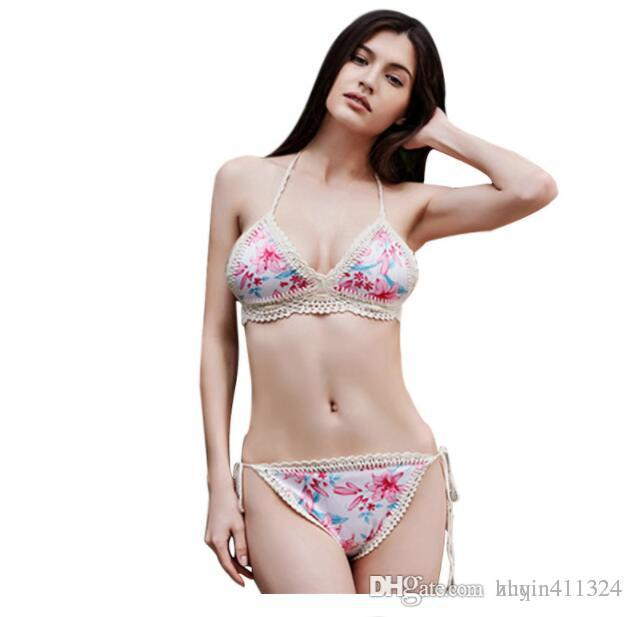68e8c8a53b 2018 New Women s Cotton Underwear Bras Sets Sexy T-Back Summer ...
