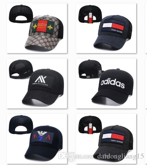 8f58ee0f Active Baseball Caps For Men Box Logo Trucker Hat Icon Brand Cap Unisex  Luxury Hats Sup Snapback Summer Sun Hats Casquettes DF11G13 Baseball Hats  Newsboy ...