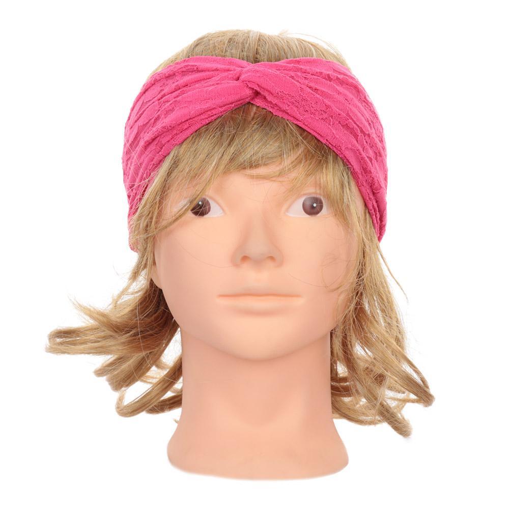Hot Fashion Turban Twist Head Wrap Headband Soft Twisted Knot Bowknot Hair  Band Headbands For Women Hair Accessories Hair Styling Accessories  Bridesmaid ... 56ca62baa03