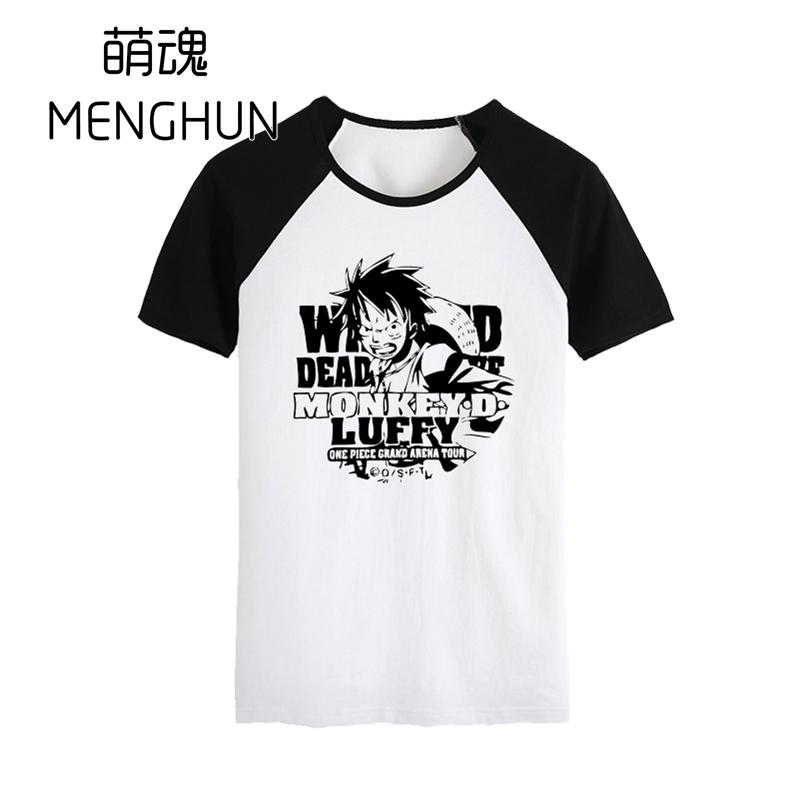 Anime Costumes Costumes & Accessories Nice High-q Unisex Anime Cos One Piece Monkey Luffy Zoro Usopp Sanji Cotton Casual T-shirt Tee T Shirt Top Online Shop