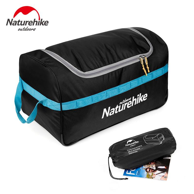 6d5ebbbf9437 Naturehike 85L 110L Travel Luggage Suitcase Storage Bag Outdoor Camping  Equipment Waterproof Foldable Rolling Luggage Bags