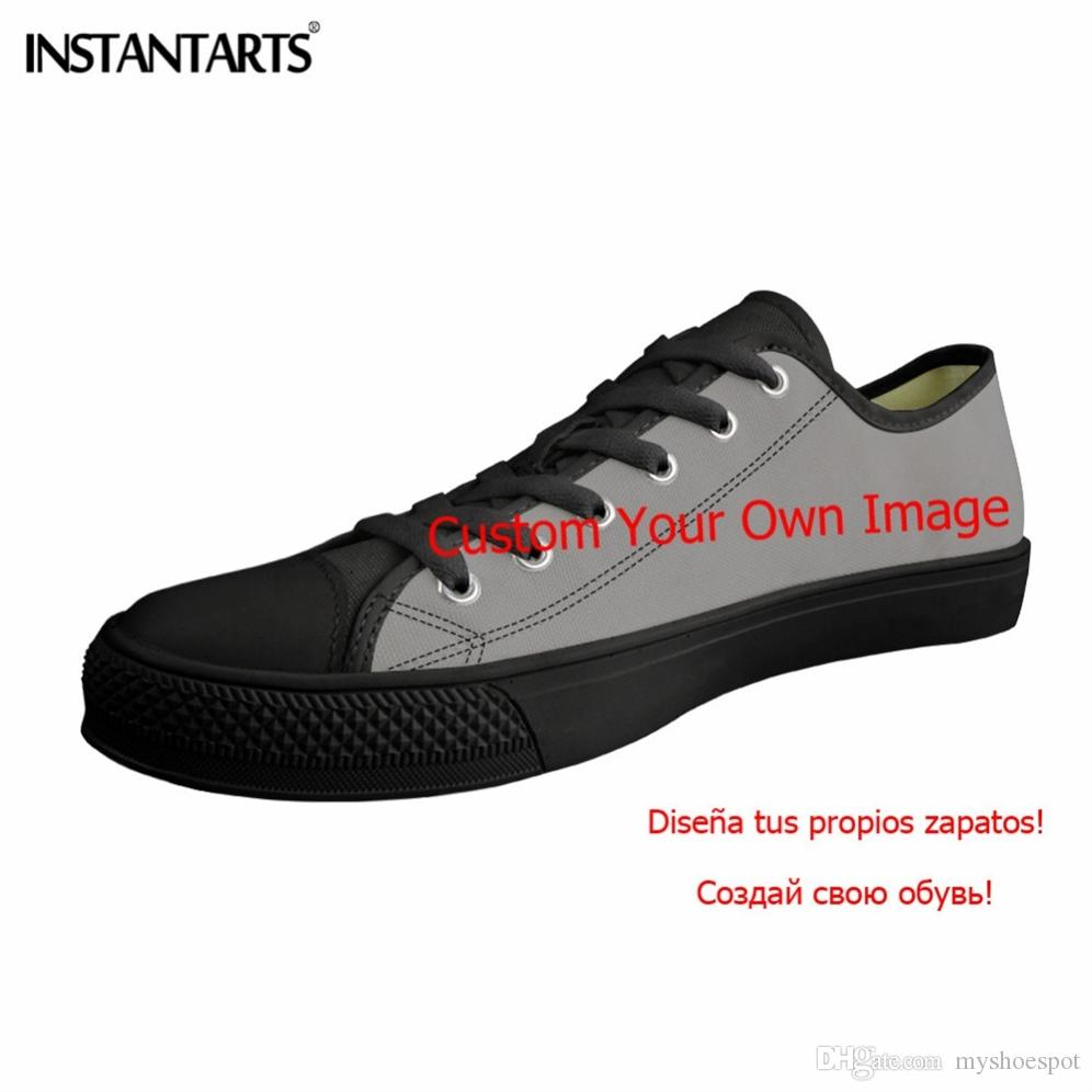 7769709f97 INSTANTARTS Stylish Mens Vulcanized Shoes Lace Up Boys 3D Printing High Top  Breathable Walking Flats Shoe Canvas Shoes Teenager  228987 Wedge Shoes  Walking ...
