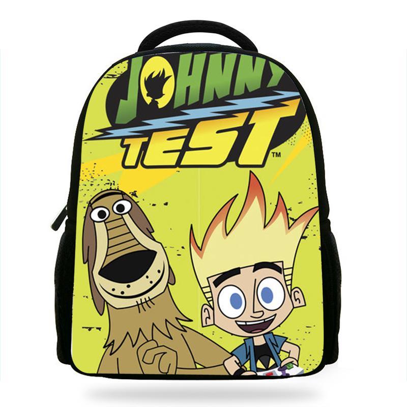 2019 Newest Cartoon Johnny Test School Bag Kid Backpack Boy School  Orthopedic Satchel For Teenage Boys Children S Backpacks Burton Rucksack  Sports Bags From ... 05160d54084e2