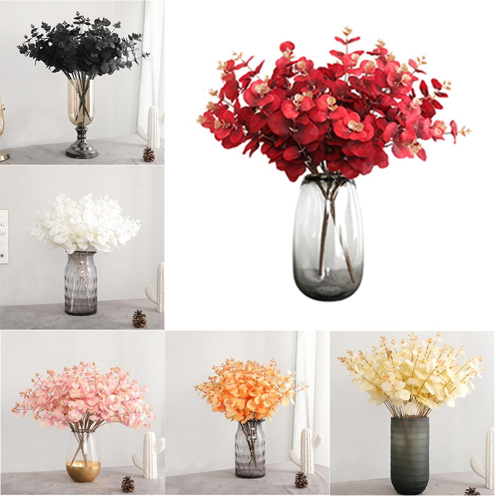 Colorful Decorative Flower Bouquet Artificial Silk Hydrangea DIY Home Party Wedding Arch Background Wall Decorative Flower
