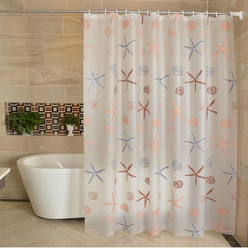 2019 PEVA 3d Waterproof Shower Curtain Transparent White Clear Bathroom Luxury Bath With Hooks C18112201 From Mingjing03 2017