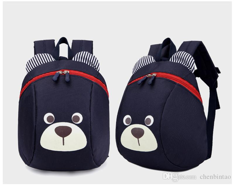 d23c4beb75fa Kindergarten Backpack Anti Lost Kids Baby Bag Cute Animal Dog Panda  Children Backpacks School Bag For Boys Girls Mochila Escolar Cute Knapsack  Backpacks ...
