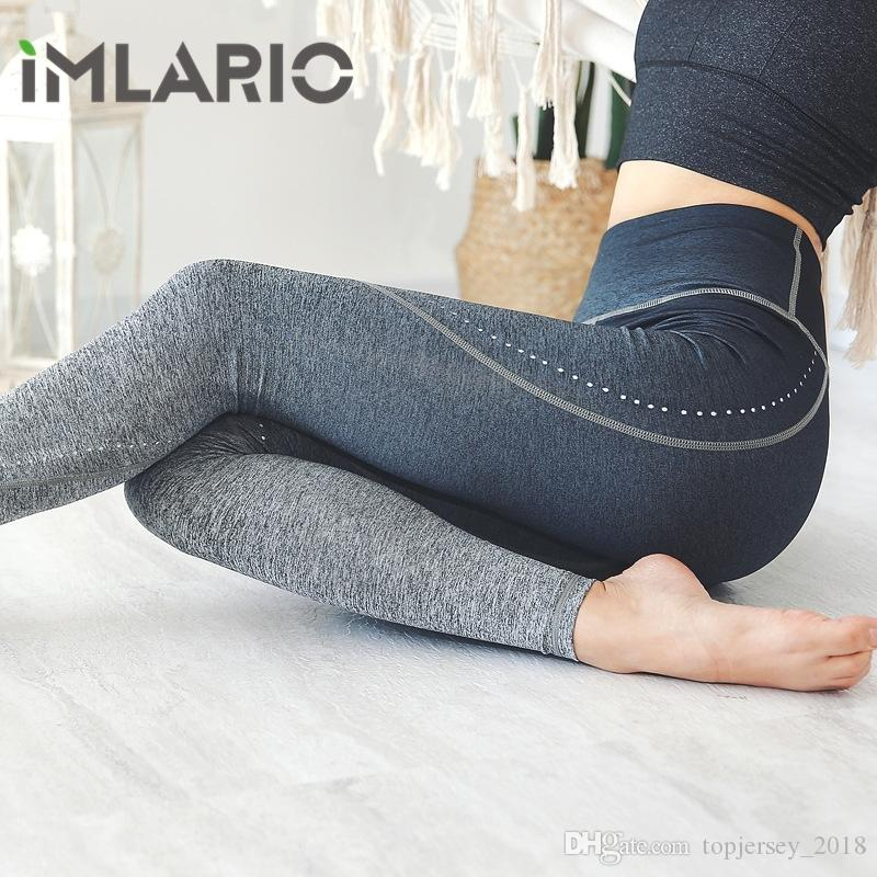 c2e56efbdfa8f6 2019 Imlario Ombre Seamless Leggings Fitness Yoga Pants High Waist Gradient  Running Gym Leggins Workout Activewear For Women #262268 From  Topjersey_2018, ...