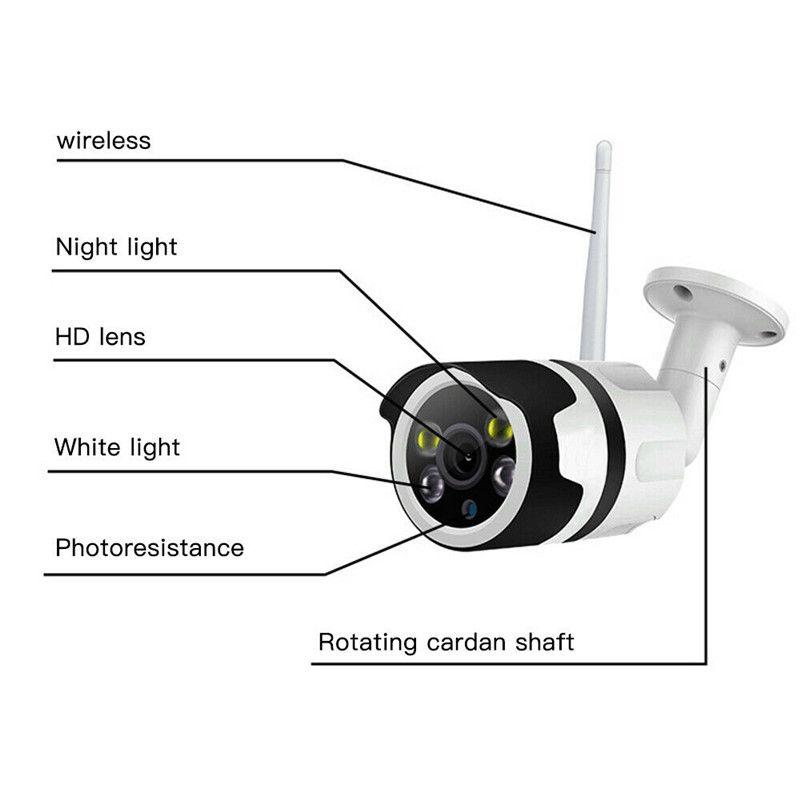 PYMH 비바람에 무선 WIFI IP 카메라 1080P HD 네트워크 캠 CCTV에서 / 야외 보안 IR 나이트 비전 웹 카메라